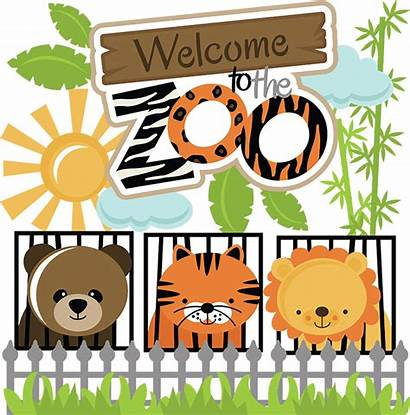 Zoo Welcome Svg Clipart Animals Clip Lion