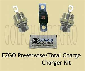 Ezgo Powerwise Total Charge 36 Volt Golf Car Charger Diode
