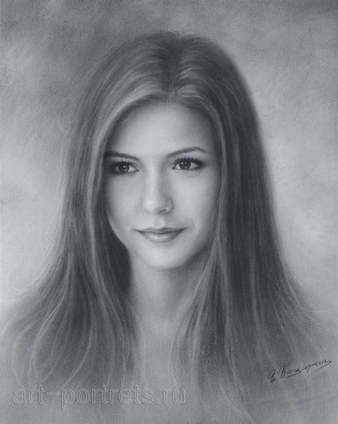 drawn portrait portraiture pencil   color drawn