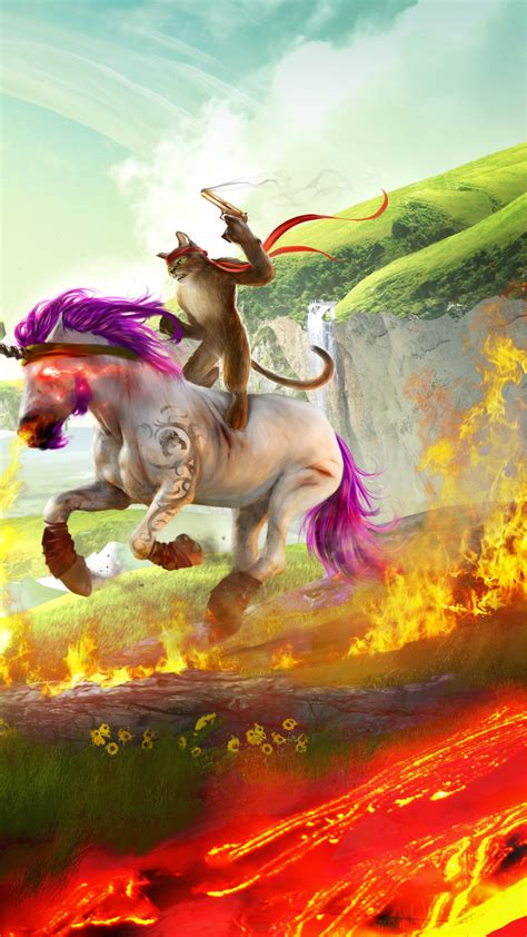 wallpaper trials fusion awesome level max unicorn games