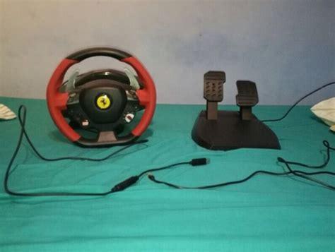   xbox one thrustmaster ferrari 458 spider racing steering wheel with pedals. Thrustmaster Ferrari 458 Spider Racing Wheel (Xbox One)   in East Kilbride, Glasgow   Gumtree