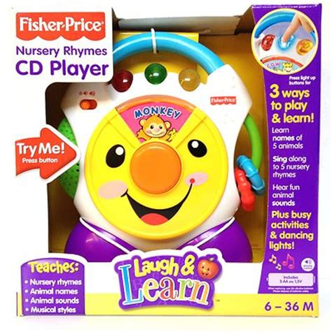 Nursery Rhymes Clothing by Fisher Price Laugh Amp Learn Nursery Rhymes Cd Player