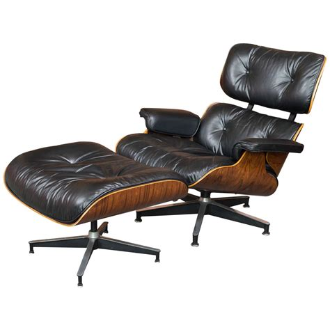 1 1 2 chair and ottoman eames rosewood lounge chair 670 and ottoman 671 for herman