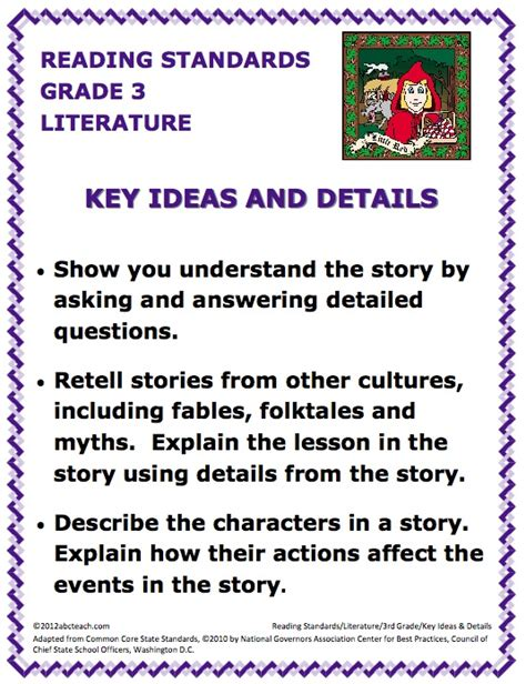 noting details worksheet for 3rd grade rcnschool