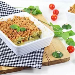 Recette Crumble Salé : recette crumble sal courgette ch vre menthe magazine ~ Melissatoandfro.com Idées de Décoration