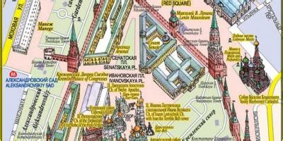 moscow red square map red square moscow map russia