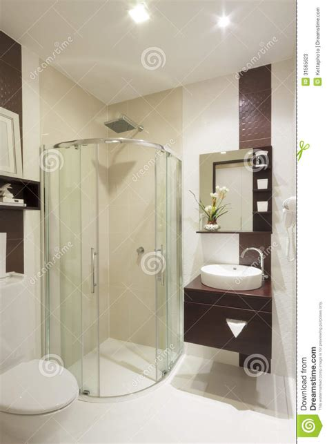 luxury bathroom stock  image