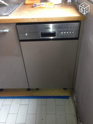 cuisine leboncoin lave vaisselle siemens encastrable 45 cm electroménager