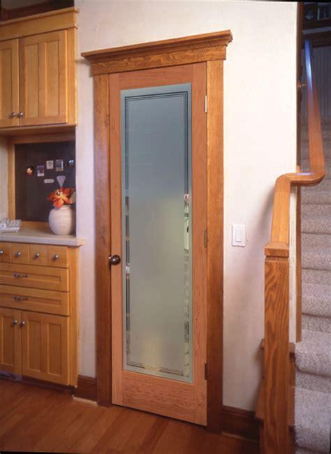 hamilton decorative glass interior door traditional