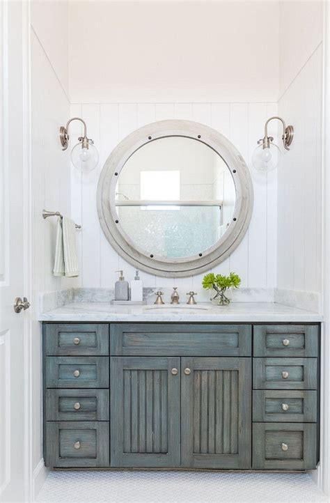 distressed bathroom cabinet  bathroom features