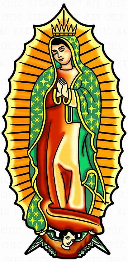 Guadalupe Lady Clipart Digital Virgin Mary Virgen