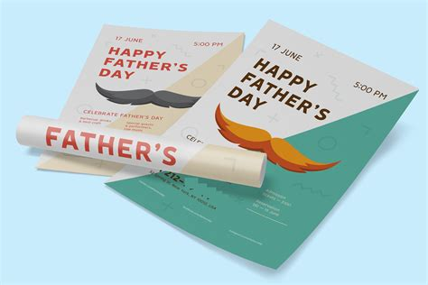 happy fathers day poster ideas