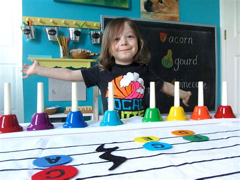 preschool handbells new sew felt musical notes and 814 | IMG 3145