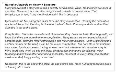 contoh narrative text singkat terbaru  beserta artinya