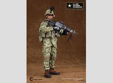 onesixthscalepictures Crazy Dummy US ARMY SAW Gunner In