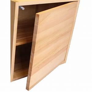 Cube Etagere Bois : porte pour cube de rangement avec tag re en bois de h tre massif huil ~ Teatrodelosmanantiales.com Idées de Décoration