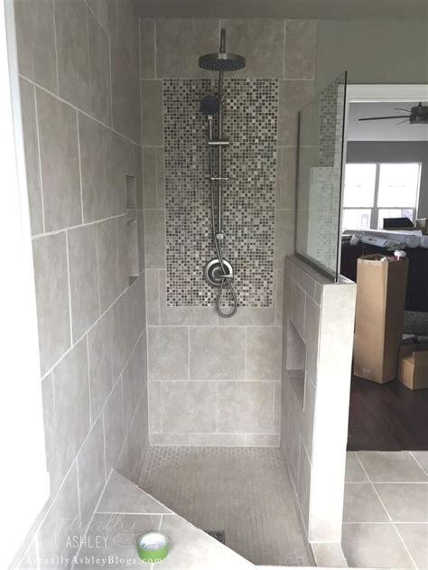 master bathroom trim  tile update simple cheap
