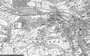 Old Maps of Saltaire - Francis Frith