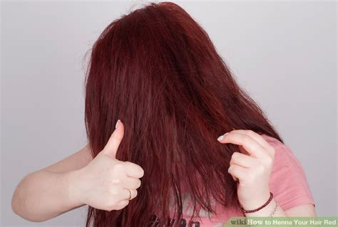 How To Henna Your Hair Red