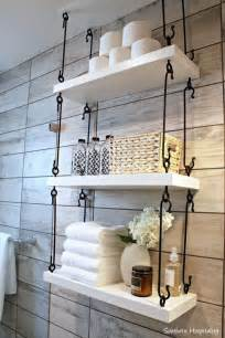 bathroom shelves decorating ideas 25 best ideas about hanging shelves on wall hanging shelves bathroom etageres and