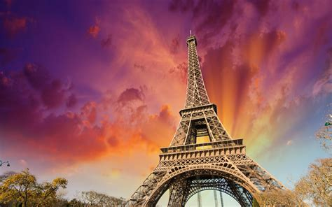 eiffel tower paris france hd wallpaper  wallpaper