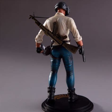 pubg figure game action toy pvc gaming playerunknown box battlegrounds toys 17cm statue figurine figures chicken wallpapers doll player