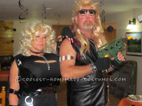 supersized beth and dog the bounty hunter couple halloween