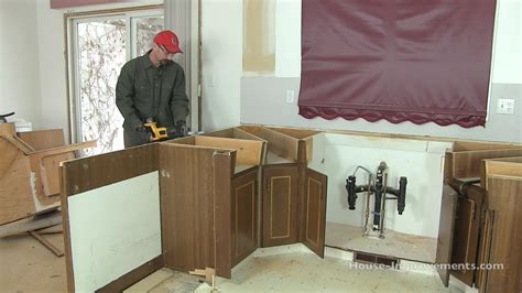 kitchen island base how to remove kitchen cabinets