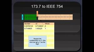 Ieee 754 Berechnen : ieee 754 32 bit single precision floats youtube ~ Themetempest.com Abrechnung