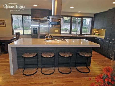 Dining Room Pendant Lighting by Laminate Cabinetry With Quartz Counters Modern Kitchen