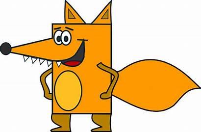 Fox Woods Clker Clip Clipart