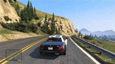 Grand Theft Auto 5 Police Car Driving Gameplay Hd