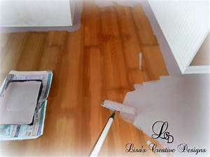 Diy why spend more painting laminate floors for How to paint wood floors diy network