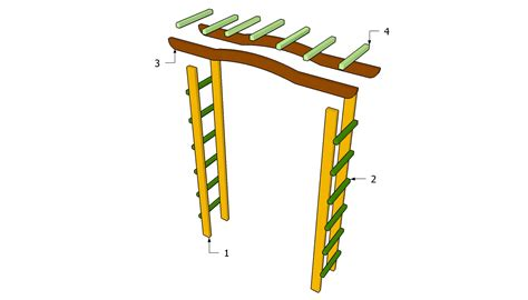 free garden arbor plans free garden plans how to build