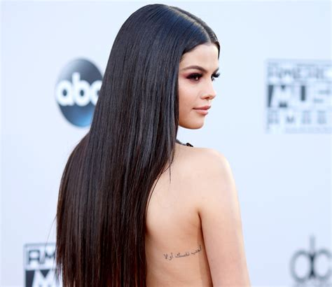 Selena Gomez's Tattoos She Has More Ink Than We Realized