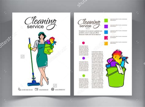 17 printable house cleaning flyers templates sample