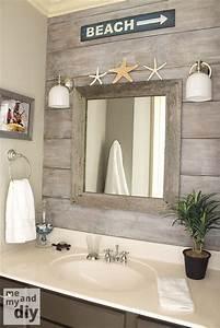 Decor nautique pour la salle de bain blogue dessins drummond for Kitchen cabinet trends 2018 combined with papier peint imitation bois