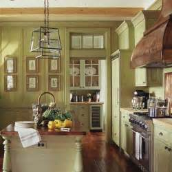 country kitchen color ideas green yellow painted traditional wood kitchen cabinets design bookmark 13438