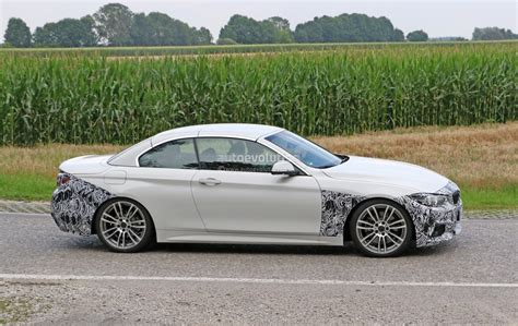 2018 Bmw 4 Series Convertible Makes Spyshot Debut, Ready