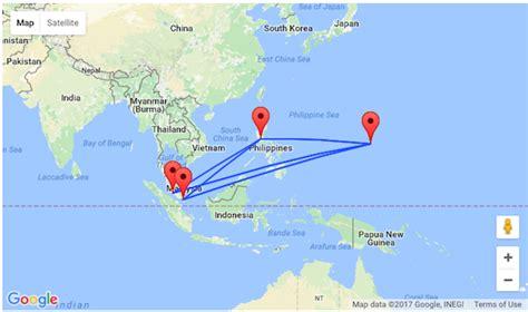singapore  malaysia  guam