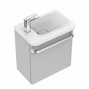 Ideal Standard Tonic : ideal standard tonic ii waschtisch unterschrank 45 cm f r handwaschbecken ablage links front ~ Orissabook.com Haus und Dekorationen