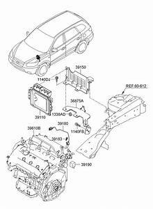 2007 Hyundai Santa Fe Electronic Control Unit