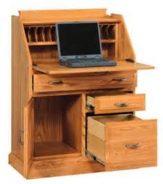 amish secretary desk with file cabinet drawer