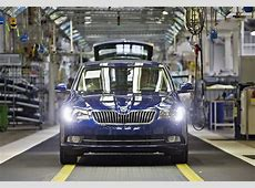 Skoda Superb Facelift Enters Production autoevolution