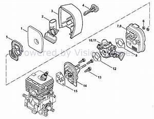 Stihl Blower Parts Diagram Air Filter  U2022 Downloaddescargar Com