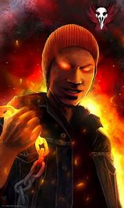 InFamous: Evil Delsin Rowe by TheMaestroNoob on DeviantArt