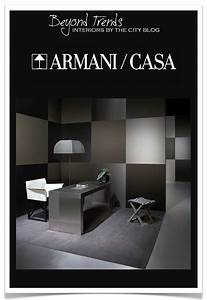 Interiors By The City  Beyond Trends  U00a7 Armani Casa