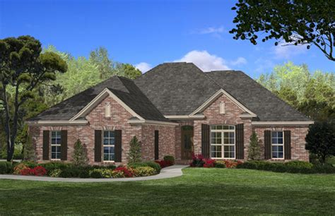 house plan    bdrm  sq ft acadian home