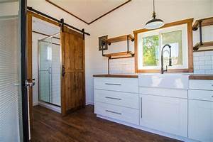White, Modern, Farmhouse, By, Liberation, Tiny, Homes