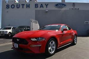 2019 Ford Mustang EcoBoost Fastback Race Red, 4 Cylinder Engine | South Bay Ford